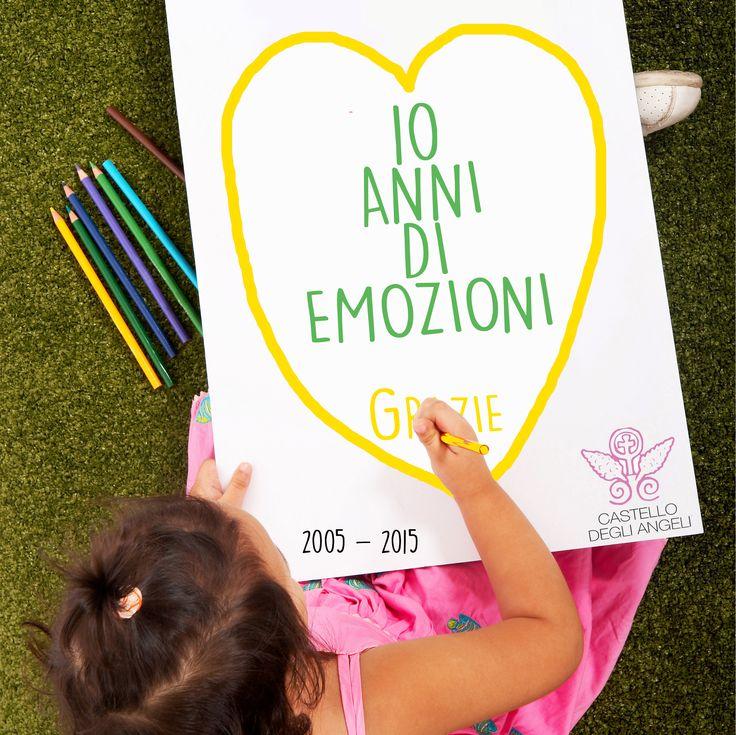2005 - 2015 10 Anni di #Emozione a Castello degli Angeli con  @barbaricciabg  Grazie a voi! www.castellodegliangeli.com