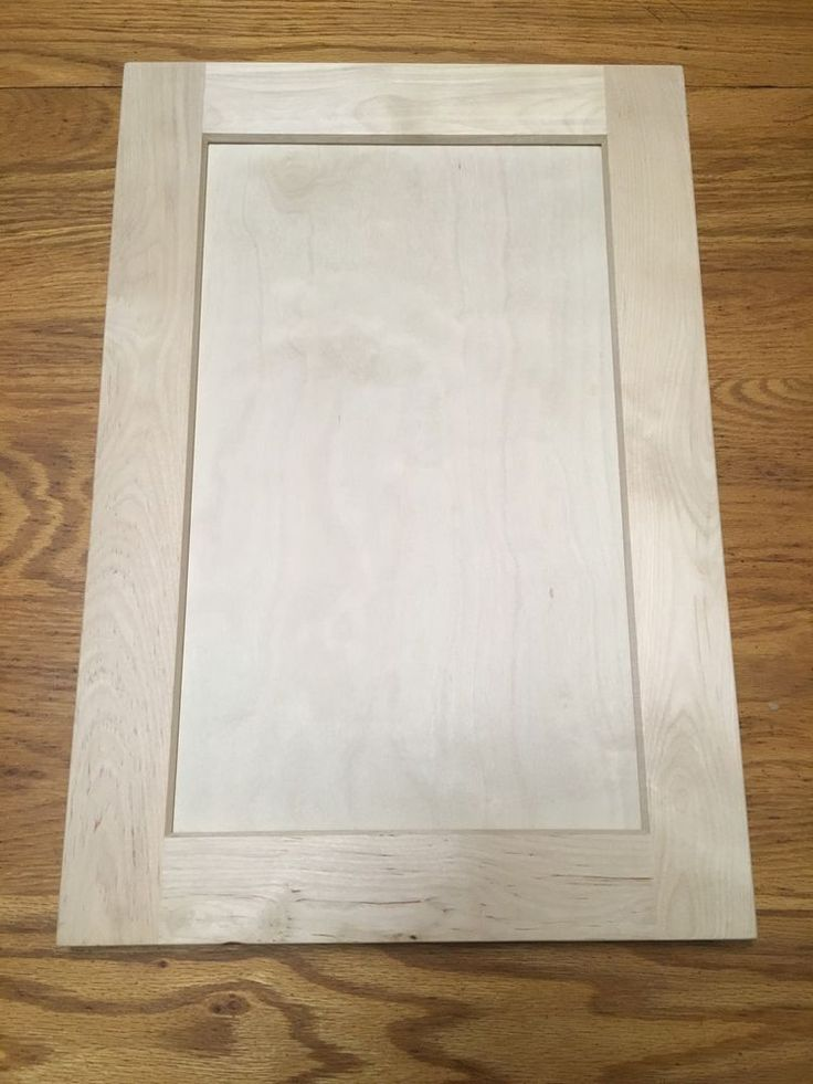 """13"""" x 19"""" Shaker Style Unfinished Birch Cabinet Door Stain Grade (A GRADE) #AgreedtokeepPrivate"""