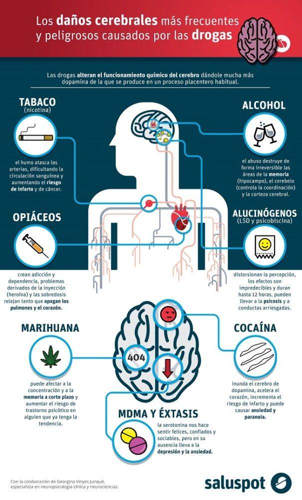 Daños cerebrales causados por drogas. Dña. Georgina Vinyes Junqué.