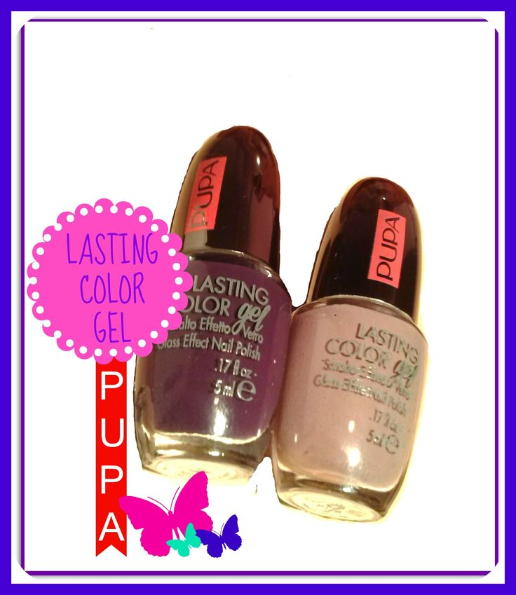 LASTING COLOR GEL PUPA #24 e #26