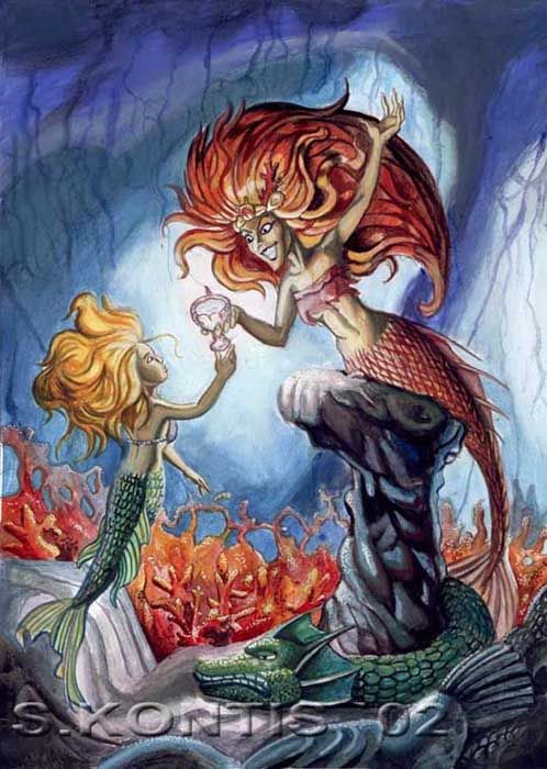 Evil Little Mermaid 42 best images ...