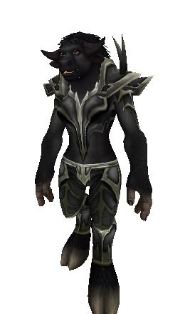Black Dragon Mail - Transmog Set - World of Warcraft