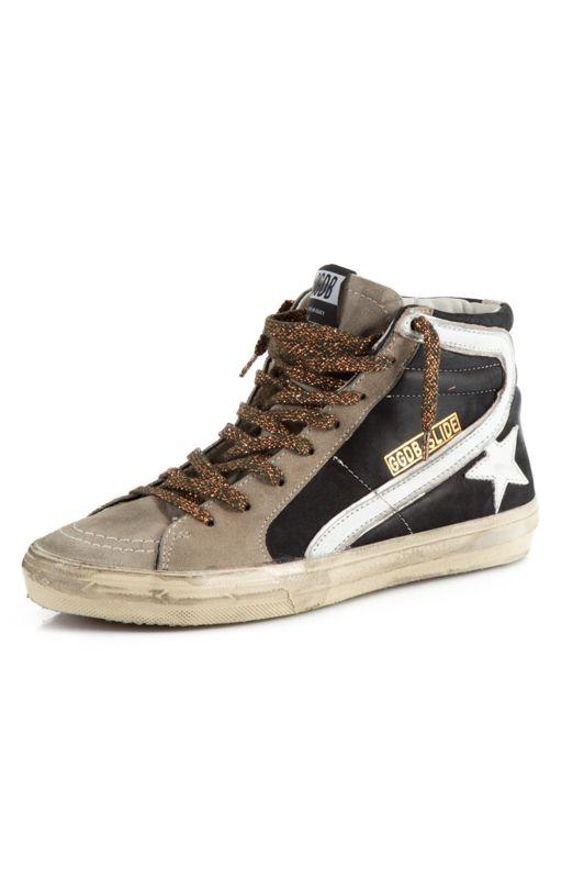 golden goose shoes Beige