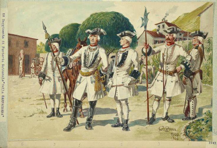 L'esercito militare Estense grazie a Giancarlo per la concessione