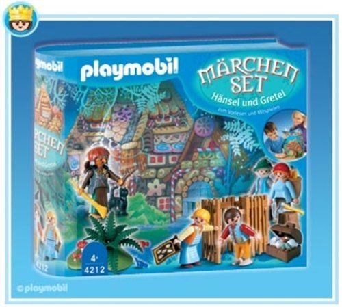 Playmobil Fairy Tale Set Lost Boy and Girl by AGATSUMA. $129.99. Witch. Lost Boy and Girl. Story Book Set. Villagers. Retired by Playmobil in 2010 - Get yours while supplies last. Playmobil - Fairy Tale Set Lost Boy and GirlRecreate the story of Hansel and Gretel. Great playset includes storybook that can be acted out with the pieces of this set. Also includes 2 children, 2 parents, witch, capture pen, jewels, and much more.Recommended for children 4+ years.Part of the Playmo...