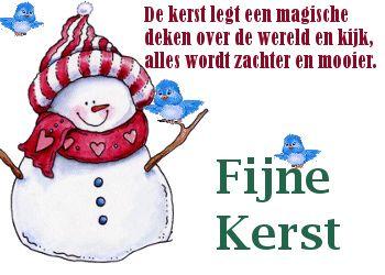 Kerst legt een magische deken over de wereld