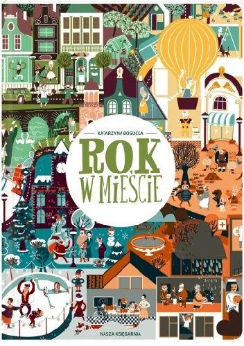 Okładka książki Rok w mieście