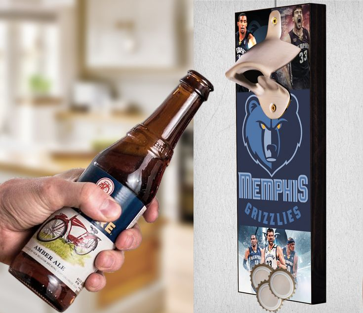 This Memphis Grizzlies bottle opener can be a great gift to any sports fan. It's the perfect addition to any man cave, bar area, kitchen, or to just put out while watching the big game. It is also a great groomsmen gift. Memphis Grizzlies Wall Mount Bottle Opener Memphis Grizzlies Cap Catcher Memphis Grizzlies Wall Opener Memphis Grizzlies Beer Opener Memphis Grizzlies Wall Art Memphis Grizzlies Craft Memphis Grizzlies Decor Memphis Grizzlies Gift Memphis Grizzlies Diy Memphis Grizzlies Art
