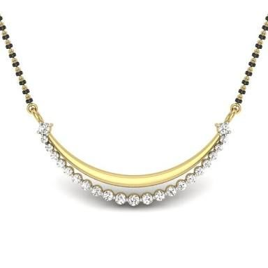 Image result for mangalsutra design in diamond