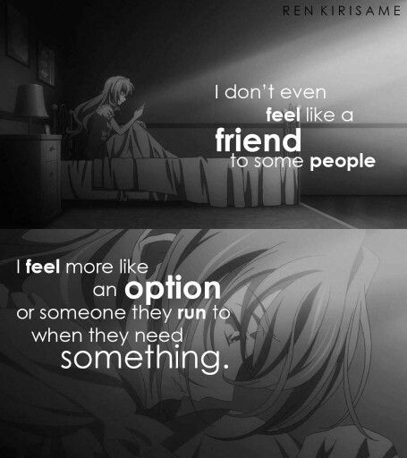Anime Sad Girl Quotes Pics: Sad Anime Quote Anime T Music Wallpaper Sad Anime