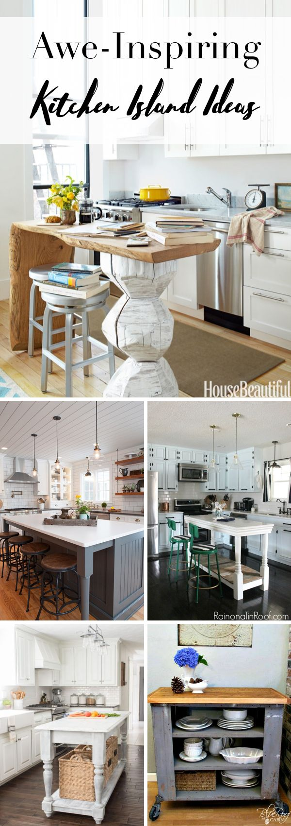 25 Awe-Inspiring Kitchen Island Ideas Blending Beauty with Purpose!