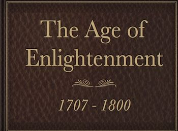 the age of enlightenment Define enlightenment: the act or means of enlightening : the state of being enlightened — enlightenment in a sentence.