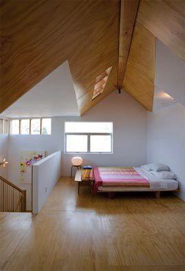 Plywood floors (multiple examples)