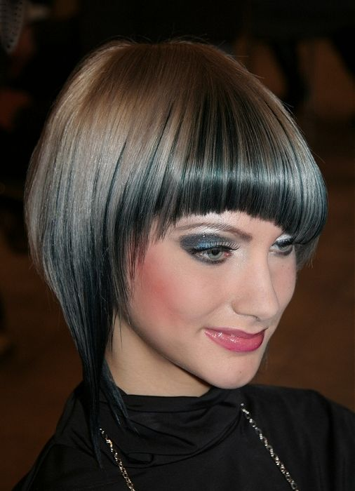 love this colour too.  cut is way too high maintenance.
