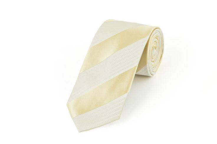 Ensign Formal - Lemon Striped Satin Tie , $36.00 (http://shop.ensign.com.au/lemon-striped-satin-tie/)