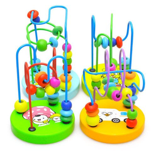 Mini Wooden Bead Rollercoaster – Baby Luno
