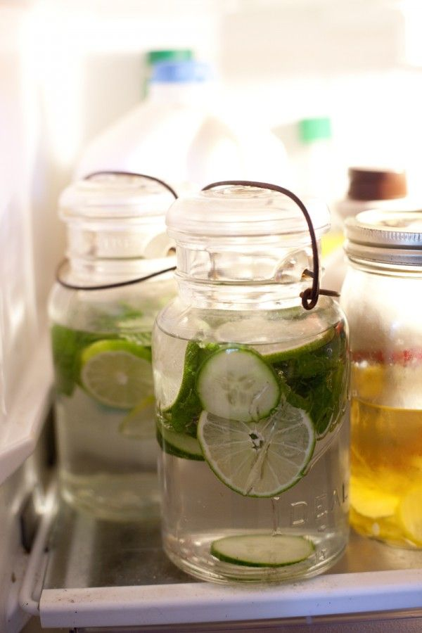 Lime Cucumber Mint Water Recipe