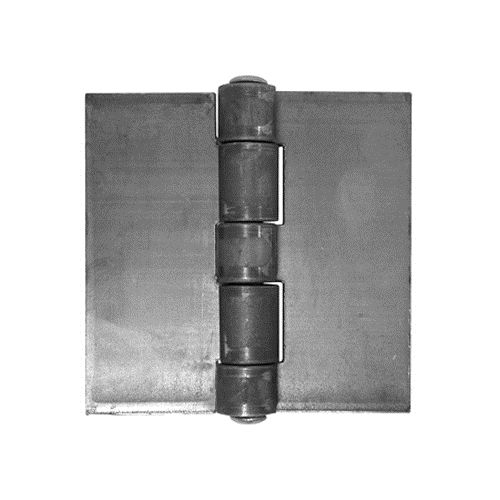 Weld On Hinges - Extra Heavy Duty Steel - 2 1/8 inches - 2 Pack