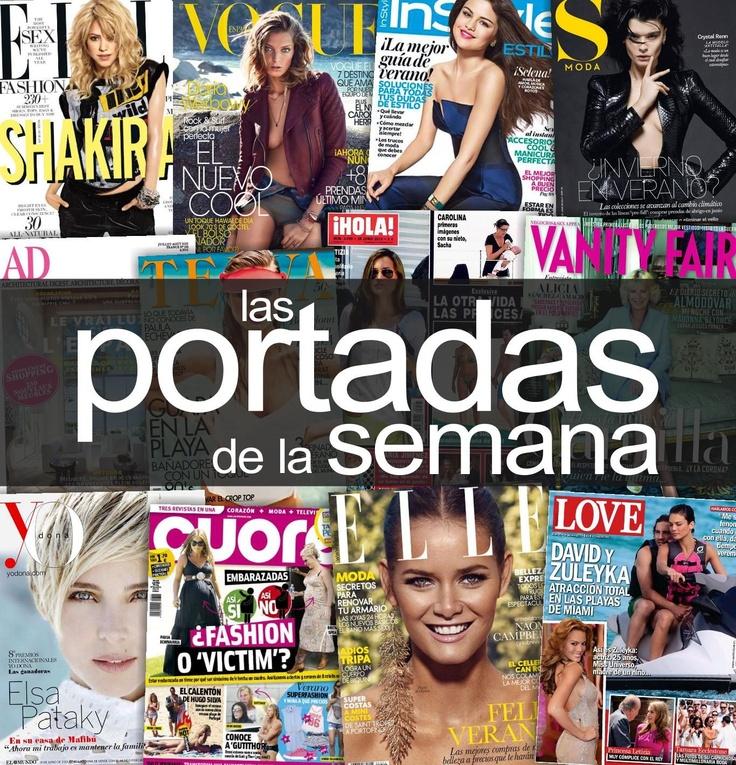 Las #portadas de la semana #Revistas