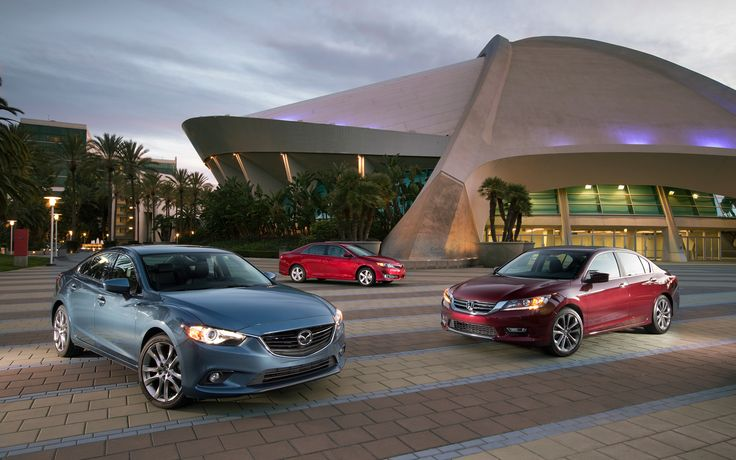 2013 Honda Accord Sport vs. Toyota Camry SE vs. 2014 Mazda6 Grand Touring - Motor Trend