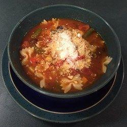 Fat Granny's Minestrone Soup