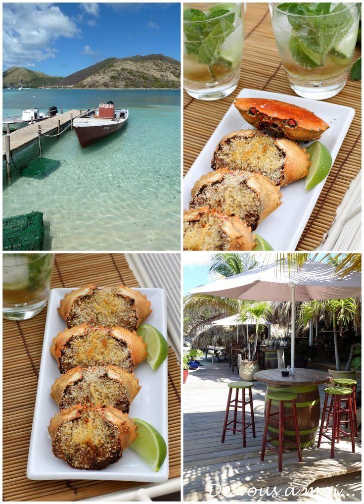 De vous à moi...: Apéro Créole: Crabes Farcis et Acras de Morue