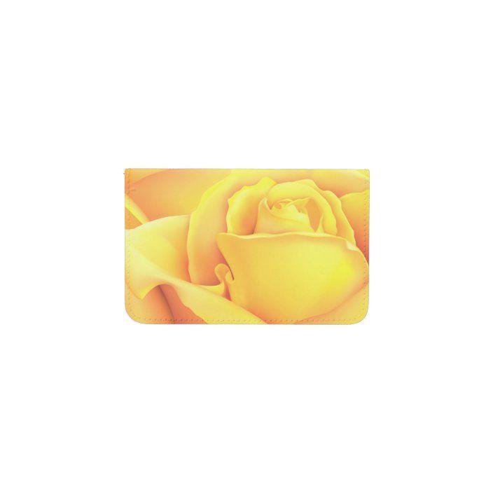 Beautiful Yellow Rose Card Holder Zazzle Com Yellow Roses Card Holder Iphone 6 Wallet Case