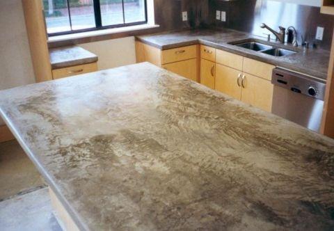 @Cory Brine Callahan concrete counter tops!