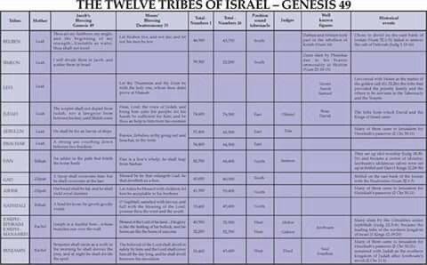 12tribes of Israel