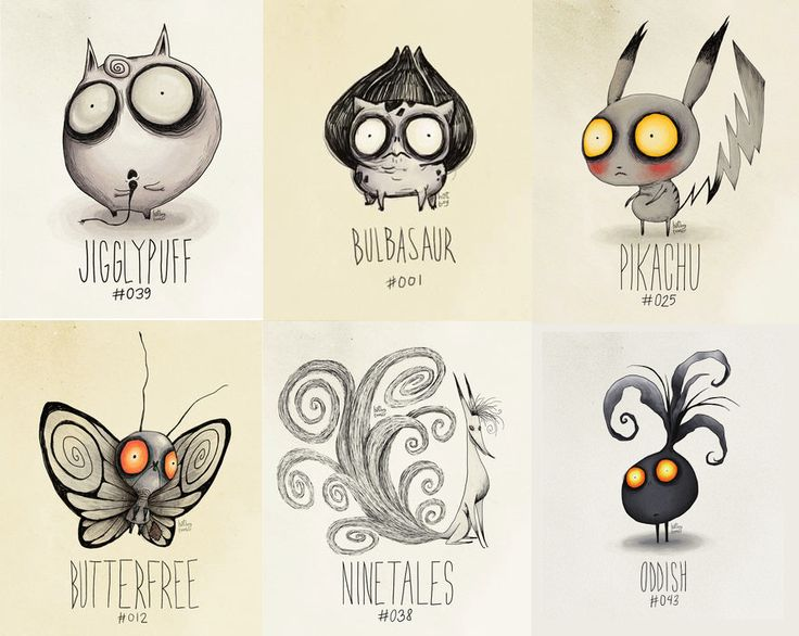 If Tim Burton is a pokemon trainer...