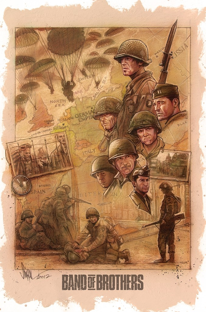 Band of Brothers by PAUL SHIPPER ILLUSTRATION