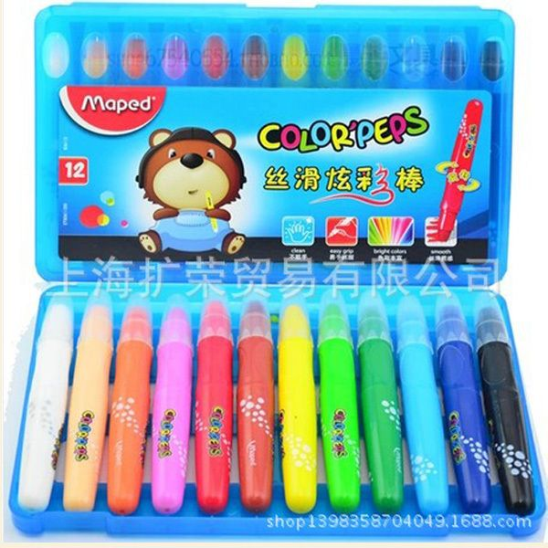 >> Click to Buy << 12 Colors Oil Pastel Children School Drawing Graffiti Art Supplies Kids Drawing Tools High Quality #Affiliate