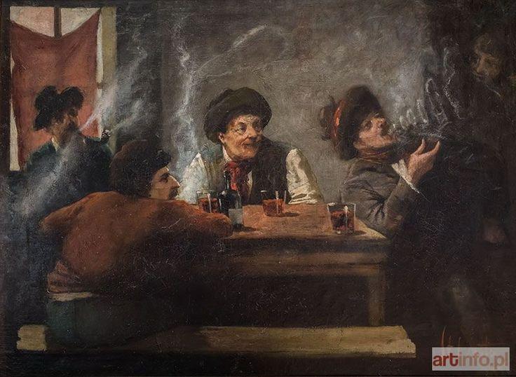 Stanisław LENTZ ● Scena w gospodzie ●