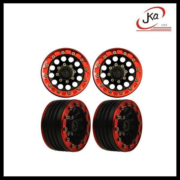 "14 Best 1.9"" Alu Alloy Beadlock Wheel Rim & Rubber Tire"