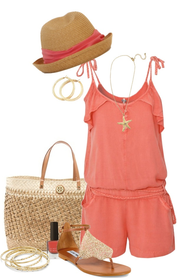 """""""Beach Shopping"""" by jewhite76 on Polyvore"""