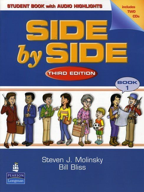 English Language books: Side by Side 1, Third Edition /Longman/ + AUDIO