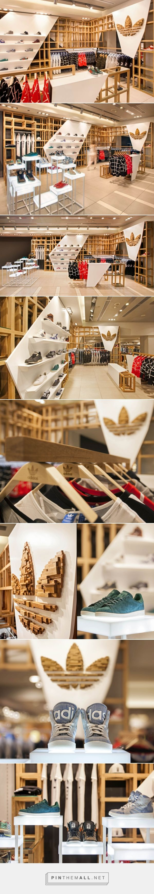 Nichos com iluminação! adidas Originals fashion store by ONOMA Architects, Athens – Greece » Retail Design Blog... - a grouped images picture - Pin Them All