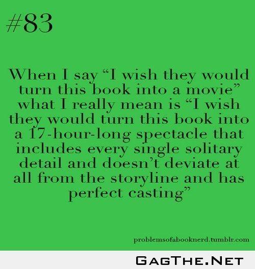 We would watch it.