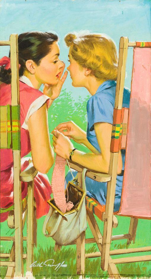 """""""Você sabia… [Have you heard...?]"""" ilustração Arthur Sarnoff."""