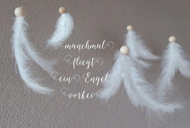mit Strich und Faden - manchmal fliegt ein Engel vorbei... und manch ein Engel darf daran erinnert werden, dass er einer ist!