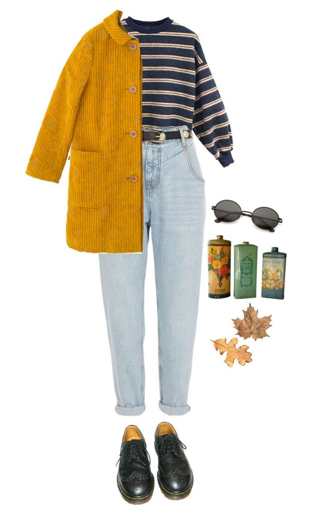 """let's go to norway baby"" by julietteisinthe80s on Polyvore featuring River Island, Sally Scott and Dr. Martens"