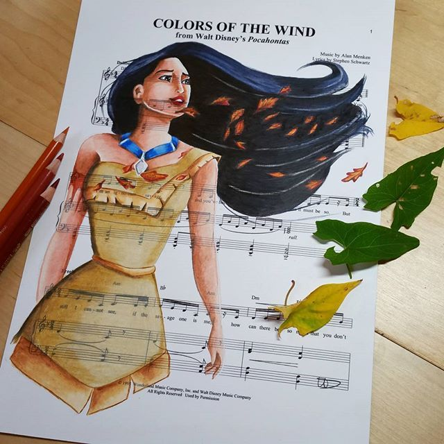 Pocahontas - Colors of the Wind