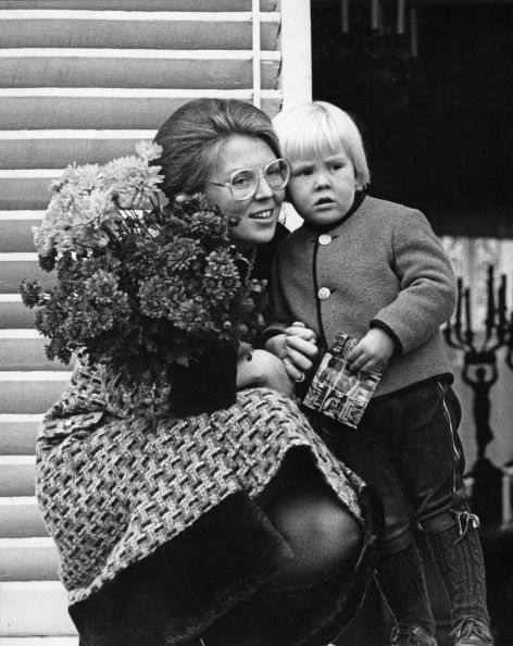 The Royal Watcher: Queen Beatrix with Prince Willem-Alexander