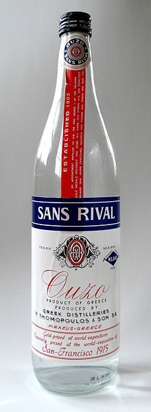 is an anise-flavored aperitif that is widely consumed in Greece and Cyprus, and a symbol of Greek culture.