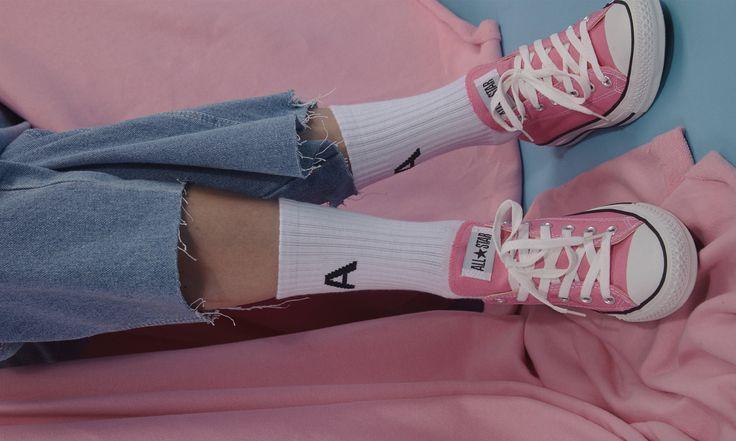 Capsule collection 2016 'Break time' www.adererror.com #pink #ader #image #aderimage