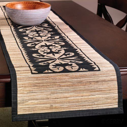 Cleaning Black Kitchen Table: Table Runners Images On Pinterest