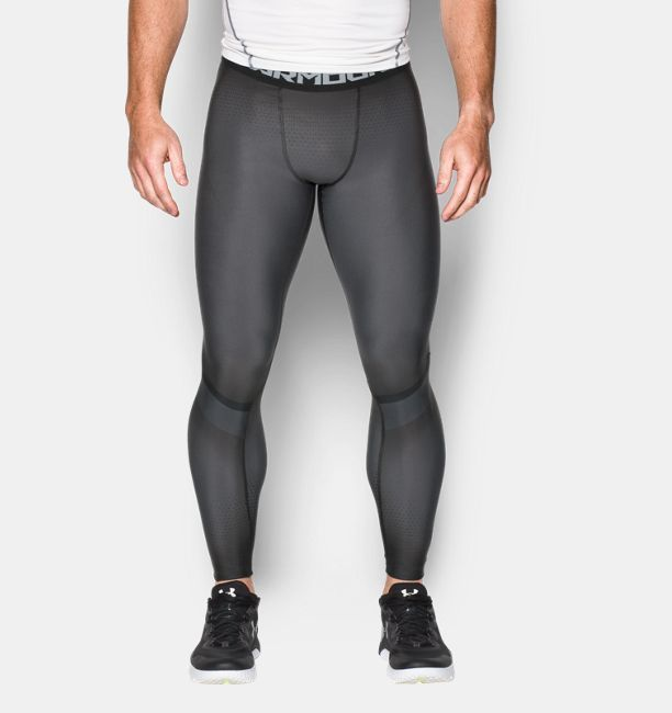 Men's UA Charged Compression Leggings- Men's fitness, athletic wear, compression leggings, gym clothes and training