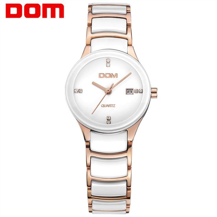 DOM mujeres enfermera relojes de marca relojes de cuarzo resistente al agua de cerámica Señoras Reloj reloj hombre marca de <font><b>lujo</b></font> reloj de pulsera T529 #mujeres #enfermera #relojes #marca #cuarzo #resistente #agua #cerámica #Señoras #Reloj #reloj #hombre #-font-b-lujo-b--font- #pulsera