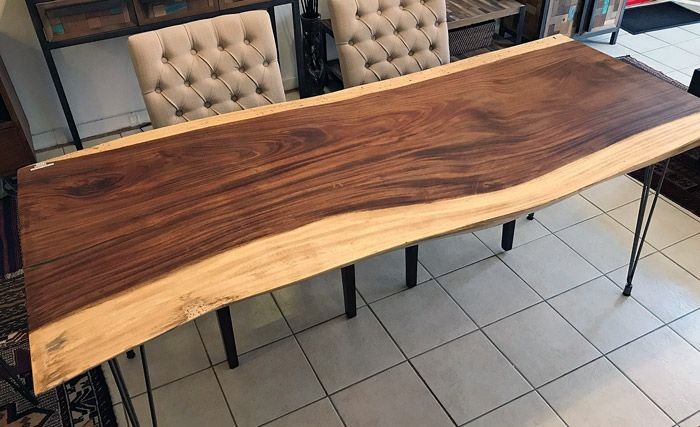 Image Result For Live Edge Round Dining Table For 6 Round Wood