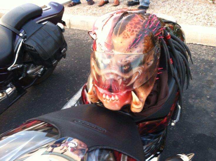 My Predator Motorcycle Helmet Husband Stuff Pinterest